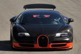 2011 Bugatti Veyron 16.4 Super Sport, pace car of all-Bugatti vintage car race, 2010 Monterey Motorsports Reunion, Calif. (3107)