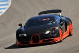 2011 Bugatti Veyron 16.4 Super Sport, pace car of all-Bugatti vintage car race, 2010 Monterey Motorsports Reunion. (3108)