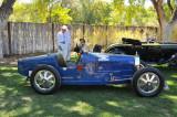 1925 Bugatti Type 35A Grand Prix Racer, driven by Louis Chiron in 1926, David Duthu, 2010 awardee, 2011 Santa Fe Concorso (0725)