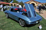 1963 Chevrolet Corvette Sting Ray Coupe, Ron & Linda Berggren, Highlands Ranch, CO, Best in Class -- American Iron (1369)