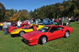 Ferraris, right to left: 328 GTB, 512 BB, 430, 360 (2609)