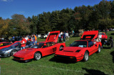 Ferraris, right to left: 308 GTS, Testarossa, 360 (2623)