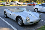 Porsche 550 Spyder replica, in parking lot (2770)