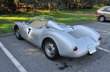 Porsche 550 Spyder replica, in parking lot (2775)