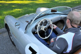 Porsche 550 Spyder replica, in parking lot (2783)