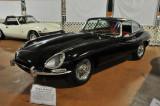 1966 Jaguar XK-E Coupe, shown at the Simeone Automotive Museum's first Best of Britain exhibit (0422)