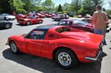 1970s Ferrari Dino 246 GT at Radcliffe Motorcar's Vintage Ferrari Event in Reisterstown, Maryland (0608)
