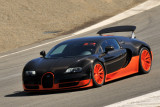 2011 Bugatti Veyron 16.4 Super Sport, pace car of all-Bugatti vintage car race during Rolex Monterey Motorsports Reunion (3109)