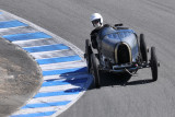 One of 30 contestants in all-Bugatti vintage car race during 2010 Rolex Monterey Motorsports Reunion (3208)