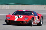 1966 Ford GT40 in Group 5A race of 2010 Rolex Monterey Motorsports Reunion (3339)