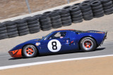 1966 Ford GT40 in Group 5A race of 2010 Rolex Monterey Motorsports Reunion (3356)