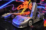 1994 Bugatti EB110, one of 126 made before VW bought Bugatti name, Petersen Automotive Museum in L.A. (4634)