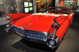 1959 Cadillac Series 62 Convertible at Petersen Automotive Museum in L.A. (4715)