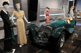 1937 SS-100 Jaguar, formerly owned by singer Mel Torme, at Petersen Automotive Museum's Automotivated exhibit (4961)