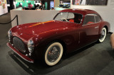1947 Cisitalia 202 Coupe by Pinin Farina (two words until 1961) at Petersen Automotive Museum in L.A. (5102)