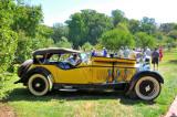 1928 Mercedes-Benz Model S Touring, designed by Ferdinand Porsche, at Hagley Car Show in Wilmington, Delaware (5437)