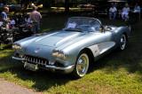 1958 Chevrolet Corvette, at Hagley Car Show in Wilmington, Delaware (5797)