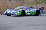 Vic Elford drives Simeone Automotive Museum's 1970 Porsche 917LH, which finished 2nd overall in 1970 24 Hours of Le Mans (6423)