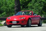 2006 or '07 or '08 Mazda MX-5 Miata during West Penn Miata Club's 4-day Miata Mountain Mania (1532 S90)