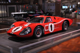 Dan Gurney and A.J. Foyt drove this 1967 Ford GT40 Mark IV to victory in 1967 24 Hours of Le Mans. (Henry Ford Museum, Dearborn)