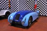 1936 Bugatti 57G Tank, 1937 24 Hours of Le Mans winner, Simeone Automotive Museum, Philadelphia (1324)