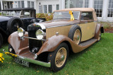 1934 Hispano-Suiza K6 Cabriolet by Fernandez & Darrin, Mort Bullock, 2008 St. Michaels Concours d'Elegance, MD (4351)