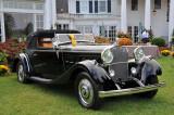 1926 Hispano-Suiza H6B Victoria by Henri Chapron, Milli & Frank Ricciardelli, Best of Show, 2008 St. Michaels Concours (4550)