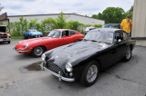 1956 AC Bristol, foreground, and 1970 Jaguar E-Type 4.2 (3334)