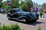 1936 Delahaye 135M SWB Competition Coupe by Figoni & Falaschi, owned by James Patterson of Louisville, KY (4815)