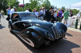 1936 Delahaye 135M SWB Competition Coupe by Figoni & Falaschi, owned by James Patterson of Louisville, KY (4828)