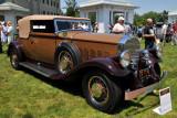 1931 Pierce-Arrow Model 41 Convertible Victoria by LeBaron, owned by David E. Kane, Bernardsville, NJ (3923)