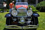 1934 Duesenberg Model J Riviera Phaeton by Brunn, owned by Sonny & Joan Abagnale, Cedar Grove, NJ (3939)