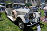 1928 Pierce-Arrow Model 36 Sedan, owned by the Antique Automobile Club of America (AACA) Museum, Hershey, PA (3944)