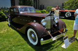 1934 Packard 1108 Sport Sedan Car of the Dome by Dietrich, owned by Robert & Sandra Bahre, Alton, NH (3970)