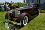 1934 Packard 1108 Sport Sedan Car of the Dome by Dietrich, owned by Robert & Sandra Bahre, Alton, NH (3974)