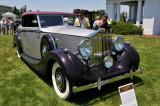1939 Rolls-Royce Wraith Concealed Head Cabriolet by H.J. Mulliner, owned by David Markel, Skippack, PA (4137)
