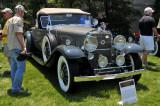 1931 Cadillac 370-A V12 Roadster by Fleetwood, owned by F. Woody & Fran Rohrbach, Emmaus, PA (4154)