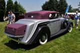 1939 Rolls-Royce Wraith Concealed Head Cabriolet by H.J. Mulliner, owned by David Markel, Skippack, PA (4162)