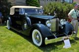 1934 Packard Twelve 1107 Convertible Victoria by Dietrich, owned by Burkland Family Partners, Ligonier, PA (4172)