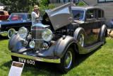 1937 Railton Special Limousine by Rippon Brothers, owned by Eldon & Esta Hostetler, Middlebury, NJ (4215)