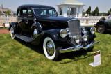 1934 Pierce-Arrow Salon Twelve Silver Arrow Coupe, owned by Bill & Barbara Parfet, Hickory Corners, MI (4244)