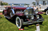 1933 Duesenberg SJ Convertible Victoria by Rollston, owned by Dr. Greg Mieckowski, Sarver, PA (4249)