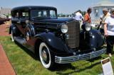 1933 Cadillac 452C V16 Custom Limousine by Fleetwood, owned by Jim & Brenda George, Haymarket, VA (4254)