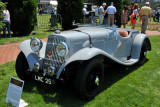 1939 Aston Martin 15/98 Short Chassis by Abbey Coachworks, owned by Don Rose, Salem, MA (4413)