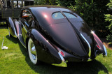 1938 Delage D8-1205 Aerosport by Letourneur et Marchand, owned by John W. Rich, Sr., at The Elegance at Hershey 2012 (3905)