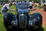 1936 Delahaye 135M SWB Competition Coupe by Figoni & Falaschi, Best of Show awardee at The Elegance at Hershey 2012 (4036)