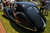 1936 Delahaye 135M SWB Competition Coupe by Figoni & Falaschi, owned by James Patterson of Louisville, KY (4081)