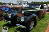 1938 Bugatti Type 57C Aravis Drophead Coupe by Gangloff, Off Brothers Collection, at The Elegance at Hershey 2012 (4103)