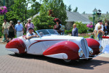 1937 Delahaye 135M Torpedo Cabriolet by Figoni & Falaschi, owned by Mark Hyman, St. Louis, MO (4586)
