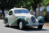 1938 Talbot-Lago Teardrop Coupe by Figoni & Falaschi, owned by the Cantore Family, Oakbrook, IL (4593)